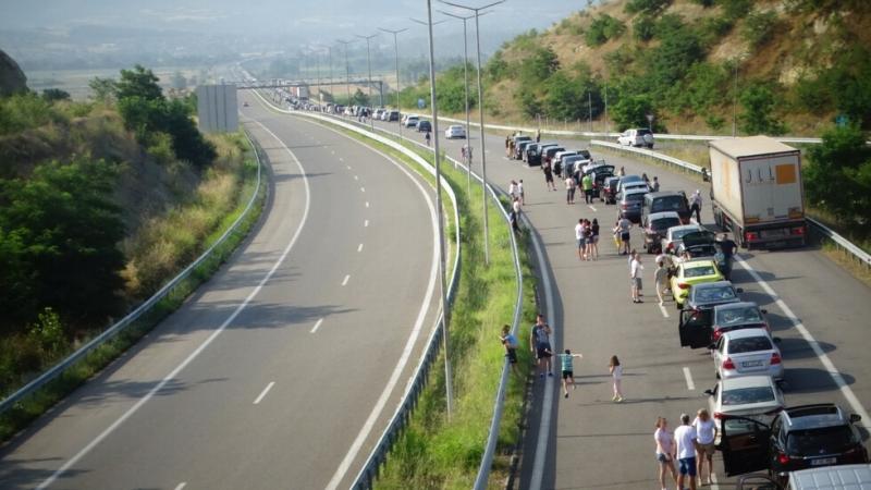 """Трафикът на граничния контролно-пропускателен пункт """"Дунав мост 2"""" при Видин"""