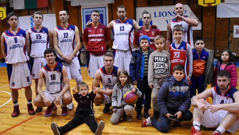 """""""Видабаскет""""днес на 13 декември ще изиграе последния си домакински мач"""