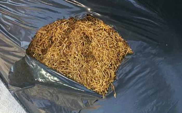 46-годишен мъж беше хванат с притежание на незаконен тютюн, съобщиха