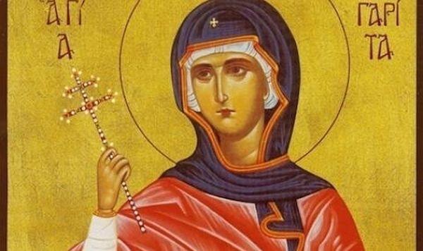 Църквата почита паметта на Света мъченица Агрипина на 23 юни.