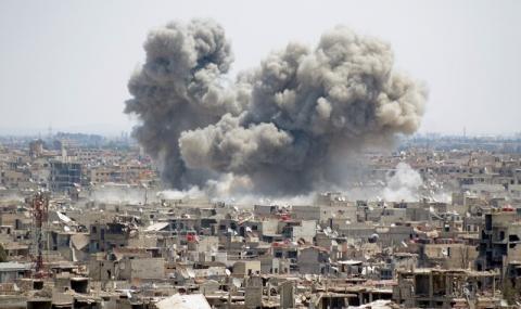 Снимка: Сирийска ракета удари Турция