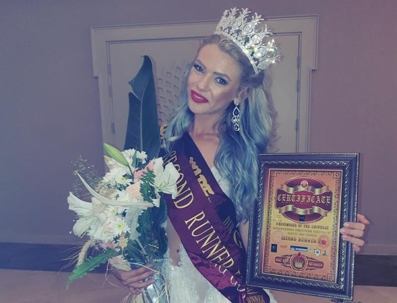 """Носителката на титлата """"Мис Северозападна България 2015"""" и Топ модел"""