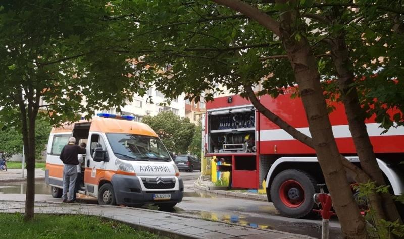 Пожарникар е загинал при инцидента, който стана този следобед край