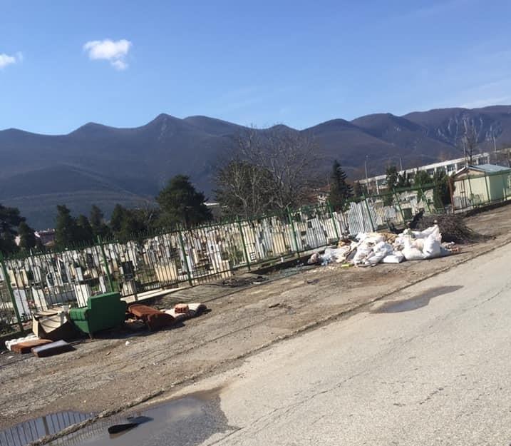 Врачани с нулево възпитание са превърнали Централните гробища в населеното