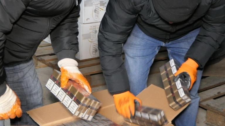 Контрабандни цигари са открити при специализирана акция в Оряхово, предадоха