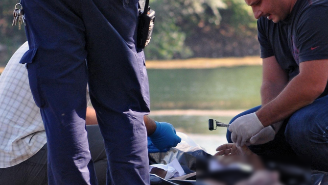 Труп изплува от Гребния канал в Пловдив