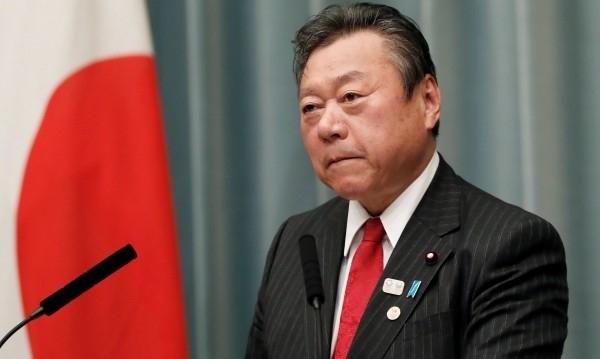 Японският министър, чийто ресор е киберсигурността и подготовката на Олимпийските
