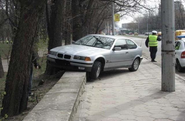 Пиян шофьор е катастрофирал във Вълчедръм, съобщиха от полицията в