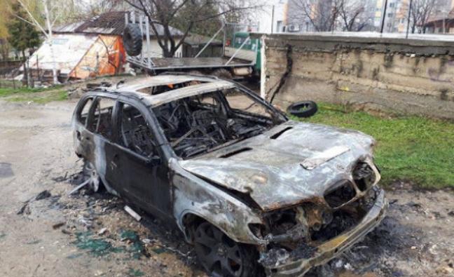 Лек автомобил изгоря като факла в Монтанско, съобщиха от полицията.