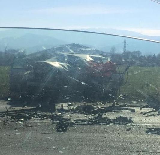 Има загинал човек при тежката катастрофа на международния път Е-79