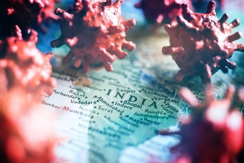 Индия регистрира поредния рекорден дневен брой заразени с коронавирус, предаде