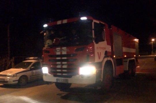 Пожар е възникнал в събота срещу неделя във фирмен автосервиз