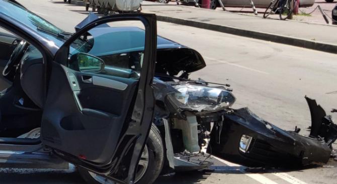 35-годишен мъж е тежко пострадал при пътнотранспортно произшествие, станало днес