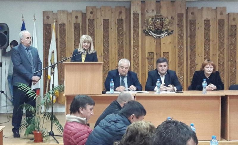 Днес на извънредно заседание на Общински съвет-Криводол положи клетва новоизбраният