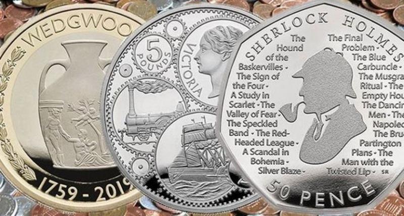 Пуснаха монета с лика на Шерлок Холмс