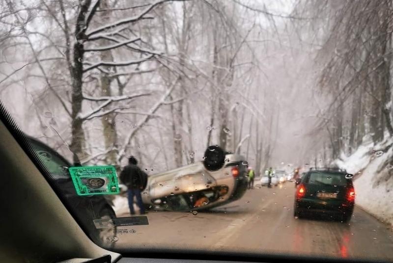Пътният инцидент стана вчера, около обяд, а за него съобщи