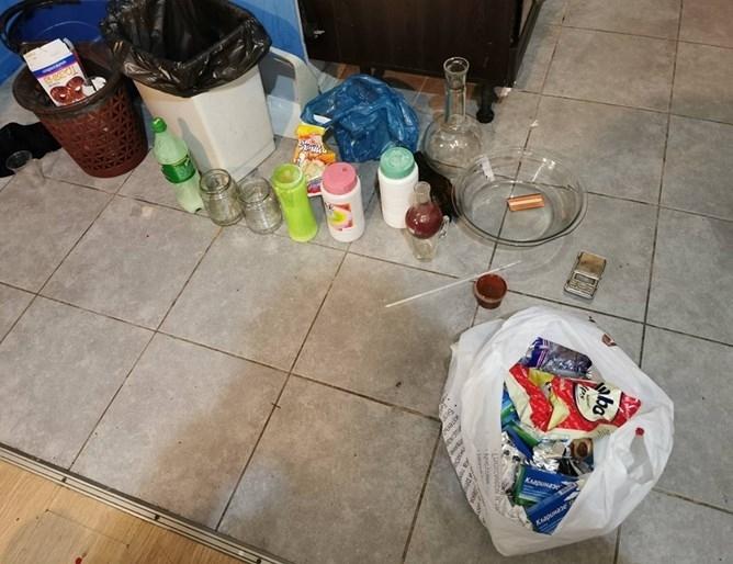 Поредната мобилна нарколаборатория бе разбита от полицията в Бургас, като