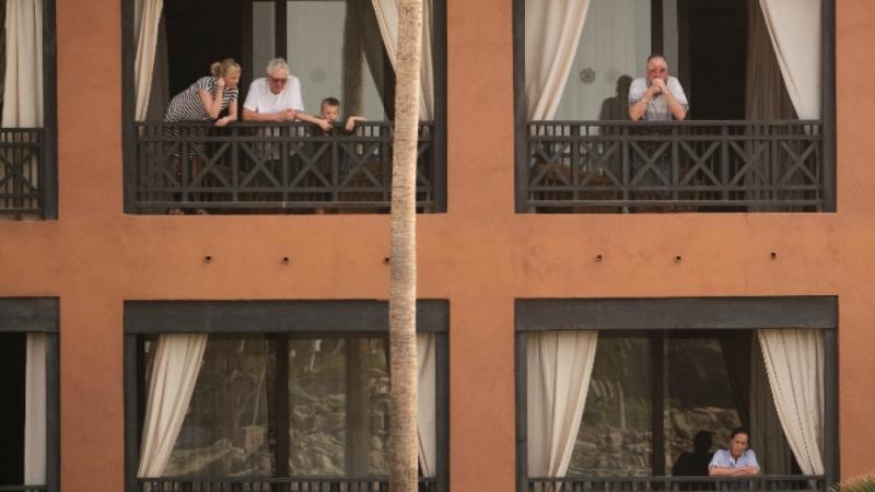 Нито един от над 700-те обитатели на хотела в Тенерифе,