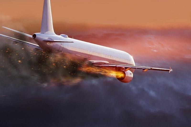Пътнически самолет се е разбил в провинция Газни, в източната