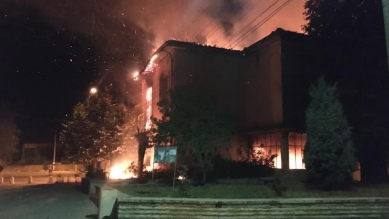 Пожар вилня в бивше училище във видинско село