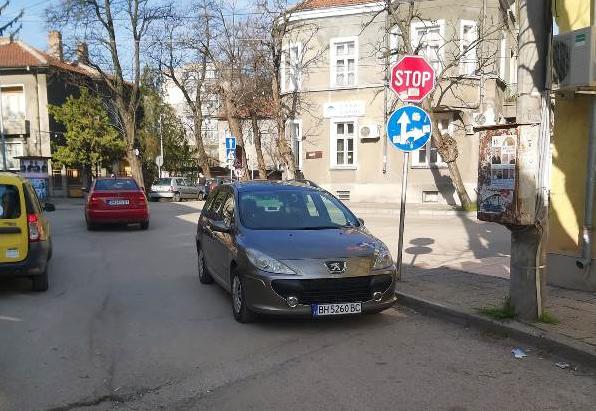 Повече от ясно е, че неграмотното паркиране във Видин няма