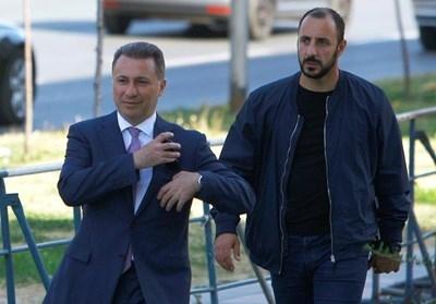 Бившият македонски премиер Никола Груевски е влязъл нелегално в
