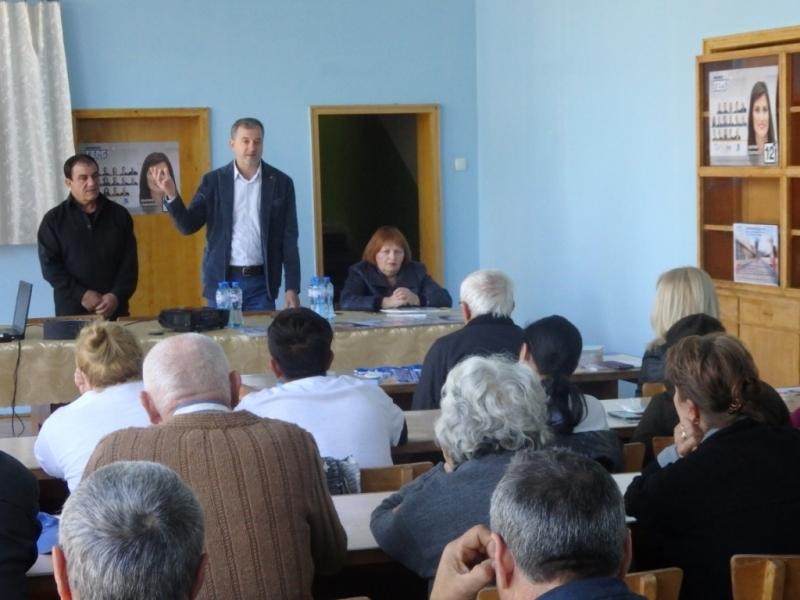Кандидатът за евродепутат от ПП ГЕРБ д-р Иво Ралчовски се