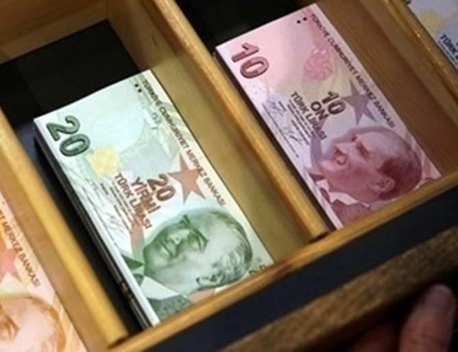 Турската лира падна днес до ниво от 7.27 лири за