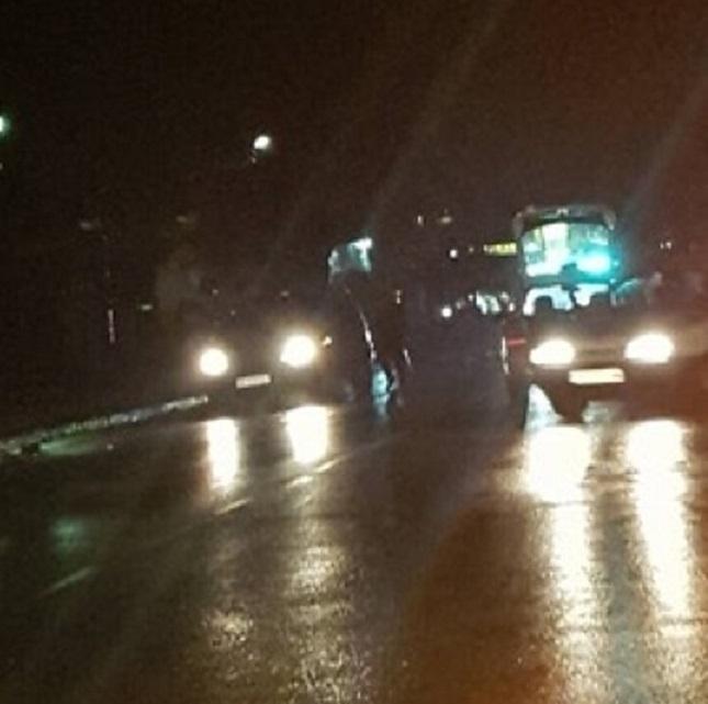 Тежък пътен инцидент е станал преди минути в Козлодуй, съобщиха