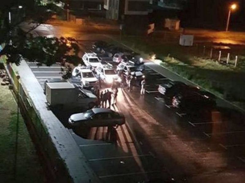 Абитуриентски купон в Крайморие е бил прекъснат принудително от полицията,