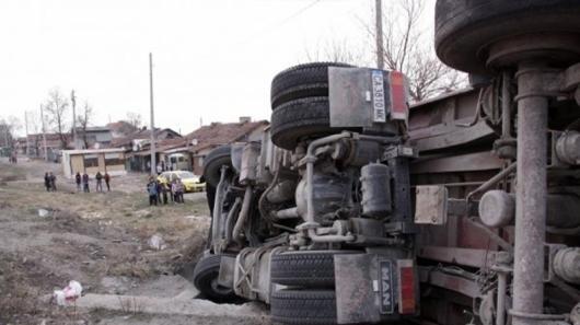 Солидно почерпен шофьор на камион от ломското село Замфир се