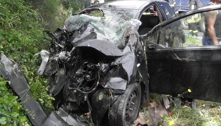 35-годишен мъж е загинал при катастрофа на пътя София -