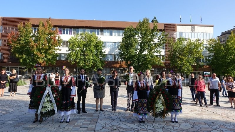 С тържествено издигане на националния флаг Берковица отбеляза 112-та годишнина