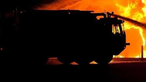 Голям пожар горя в монтанско село, съобщиха от МВР. Пожарът