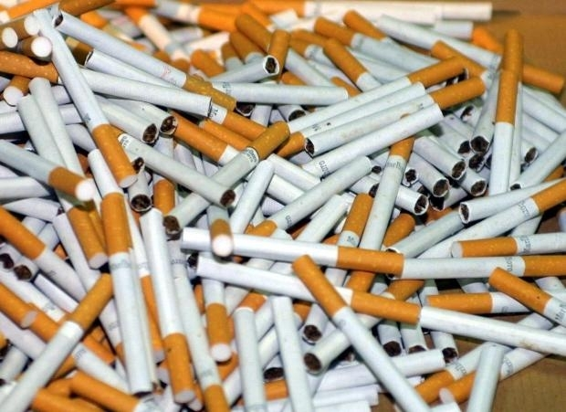 Снимка: Грък опита да влезе у нас с 2000 кутии контрабандни цигари