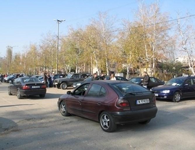 Над 200 шофьора се събраха днес с автомобилите си в