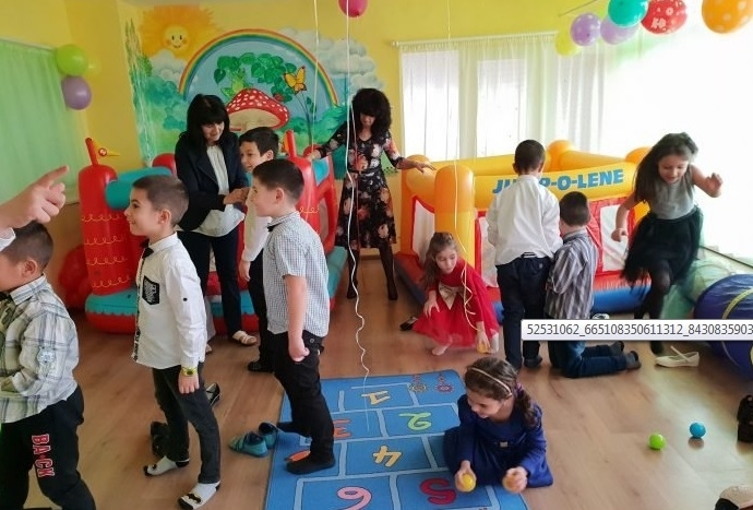 "В ДГ ""Звънче"" в Козлодуй откриха зала за развлечения. Новата"