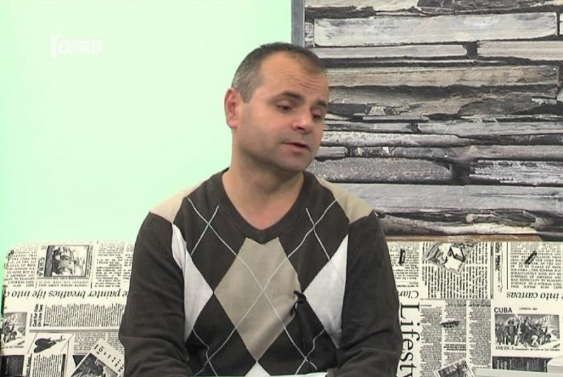 """Главният редактор на врачанския вестник """"Конкурент"""" Георги Александров, по-известен като"""