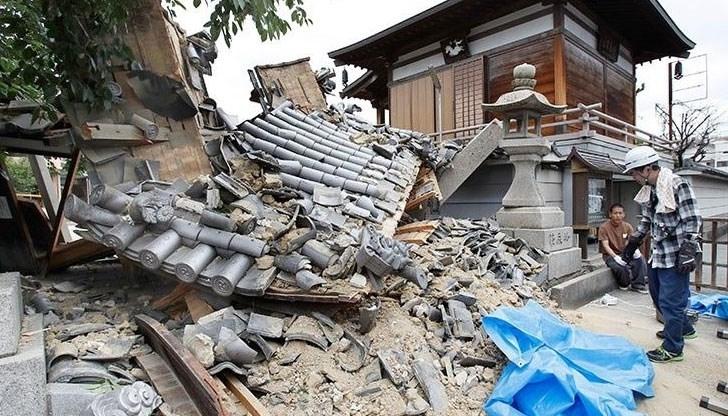 Броят на загиналите привчерашното земетресение в Южните Филипинис магнитуд 6,3