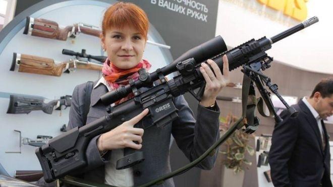Американското правителство повдигна обвинение на 29-годишната рускиня Мария Бутина поподозрение,