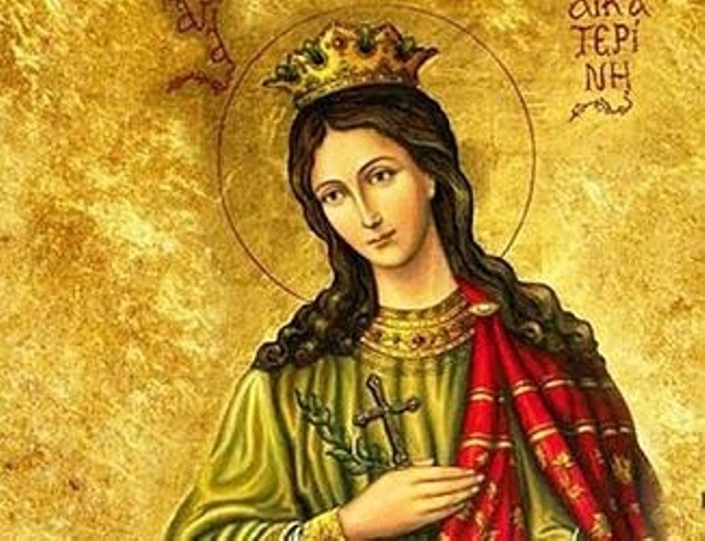 Църквата почитаВеликомъченица Екатерина - девойка от царски александрийски род. Тя