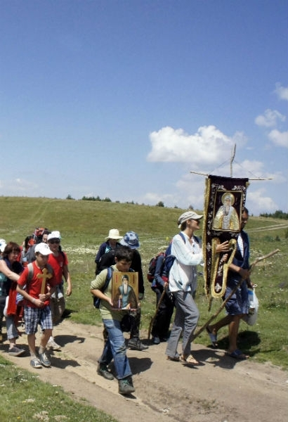 Поклонническият поход по повод 550 годишнината от пренасянето на мощите