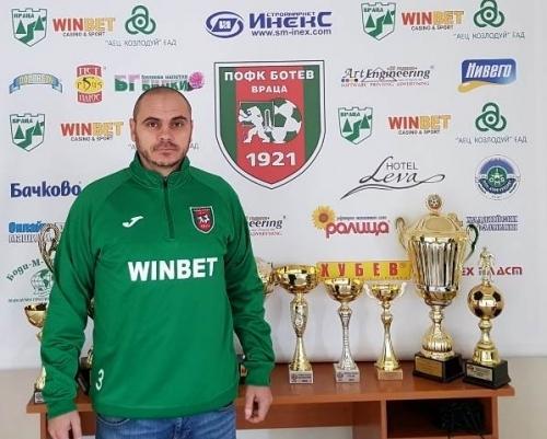 Николай Нинов е най-новото попълнение в треньорския екип на футболната
