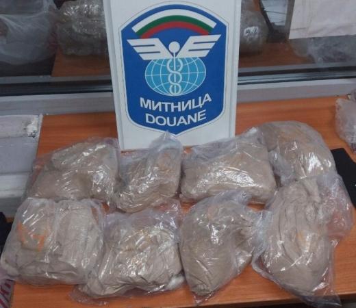 20,210 кг хероин задържаха митническите служители на Митнически пункт Капитан