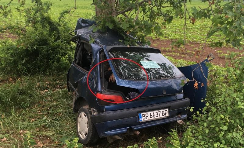 Загиналият вчера след удар в дърво край врачанското село Баница