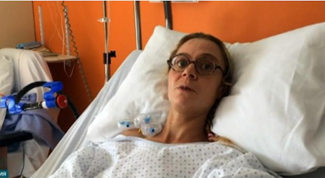 Пет месеца след двойната трансплантация на ръце във Франция пациентката