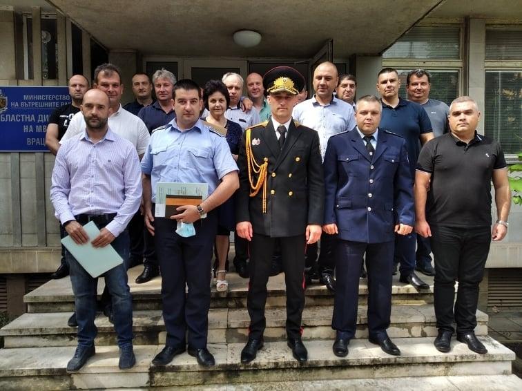 """Министърът на вътрешните работи Младен Маринов награди с """"Почетен знак"""""""