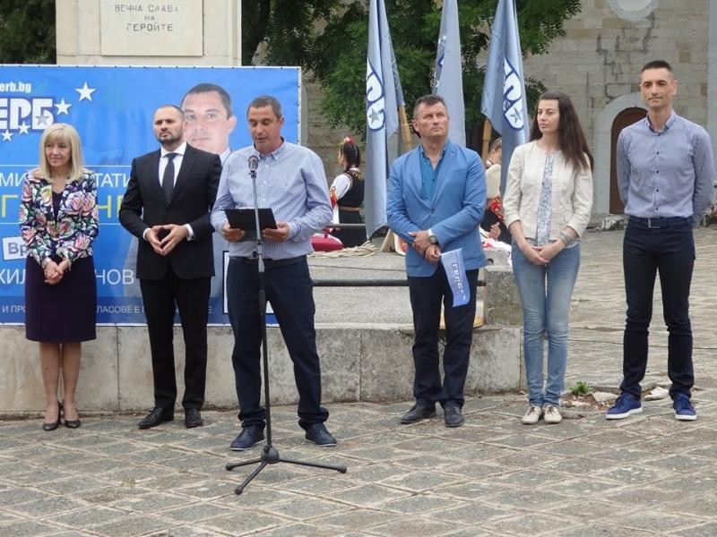 Кандидатът на ГЕРБ Страхил Стоянов е новия кмет на врачанското