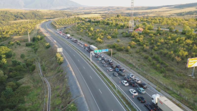 """Водач на ТИР загина при тежка катастрофа на АМ """"Тракия"""""""