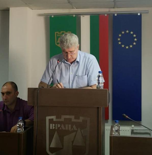 Без председател остана временно общинския съвет във Враца, видя BulNews.bg.